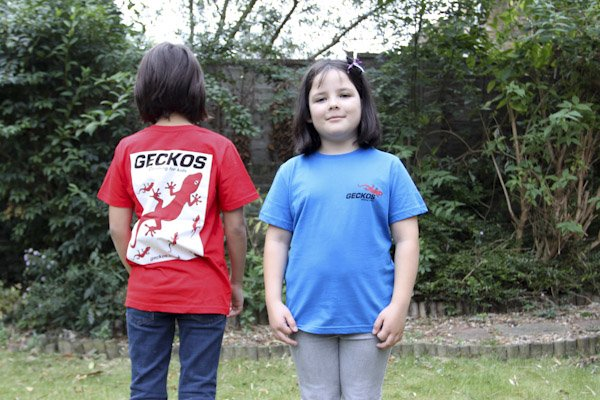 Kids in shirts